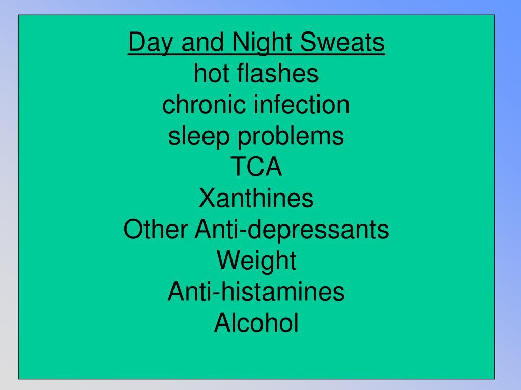 Day and Night Sweats
