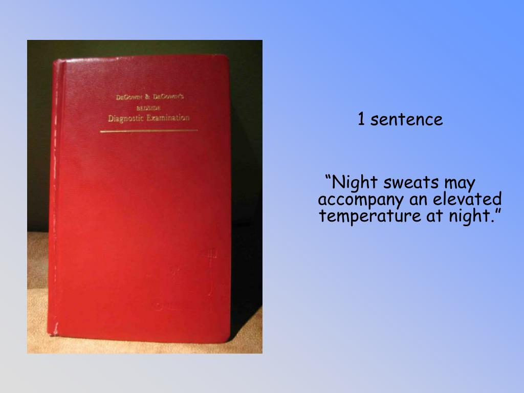 1 sentence