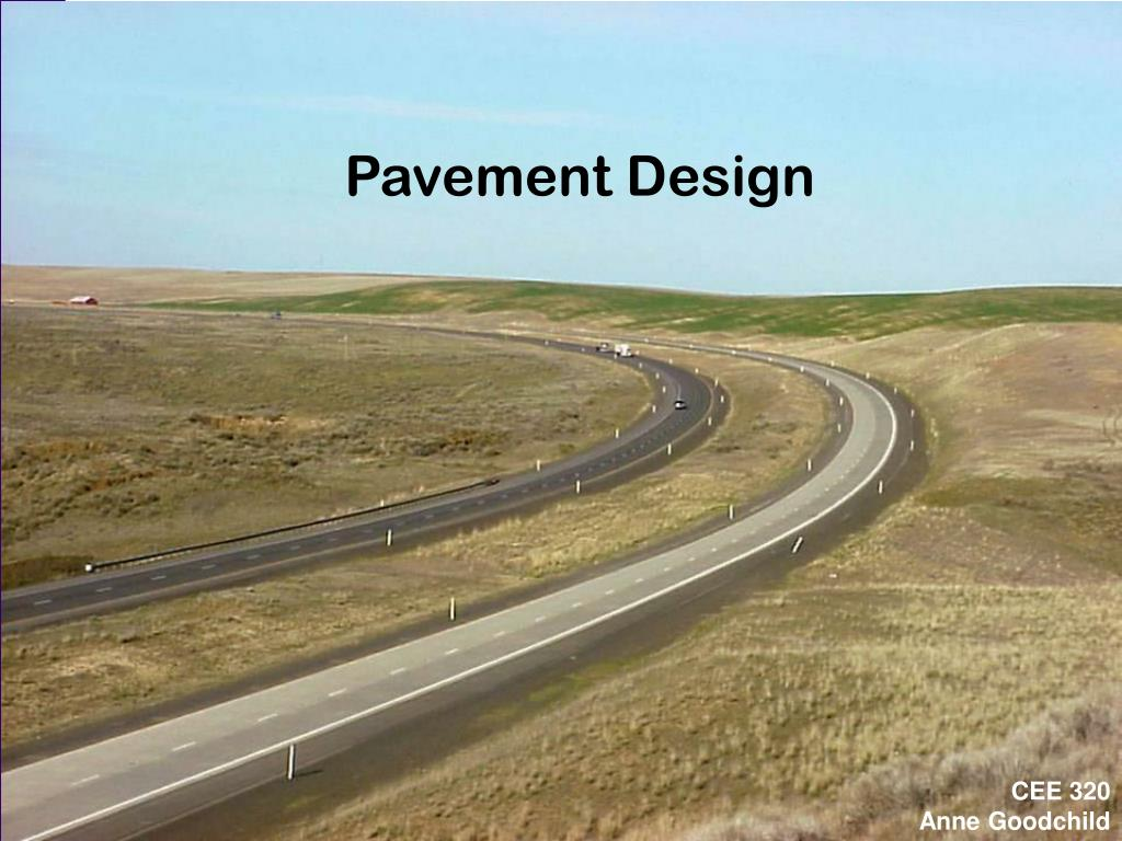 pavement design l.