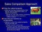 sales comparison approach17