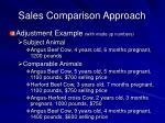 sales comparison approach19