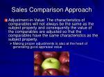 sales comparison approach9