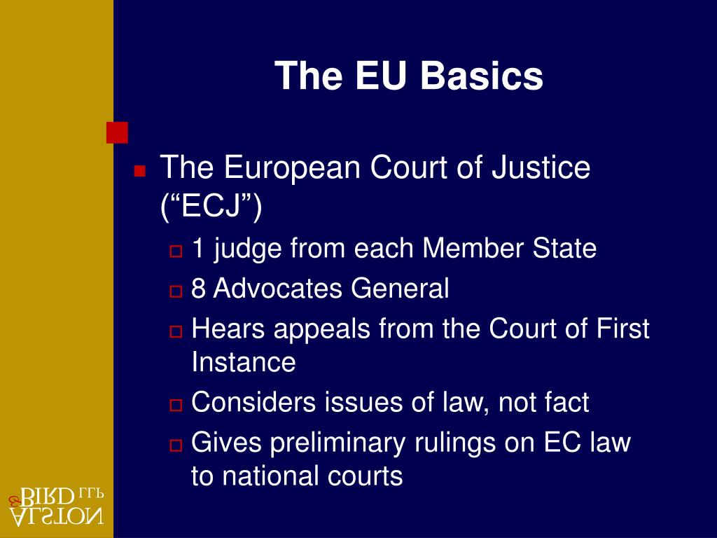 The EU Basics