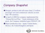 company snapshot4