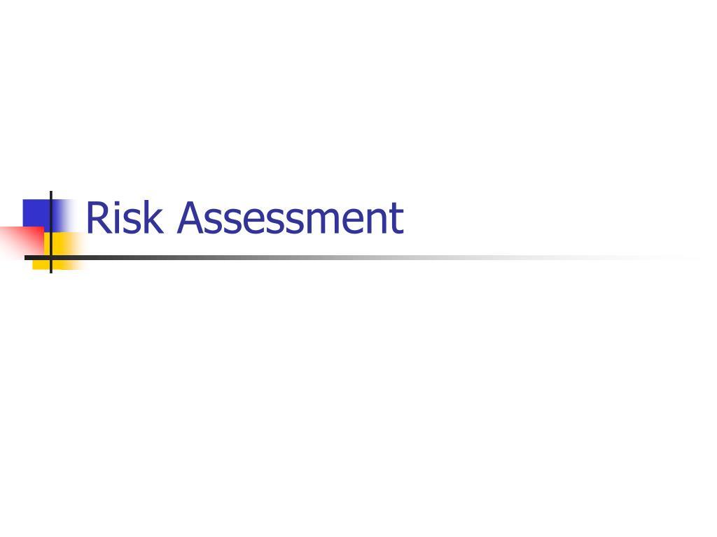risk assessment l.