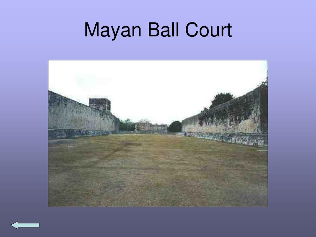 Mayan Ball Court