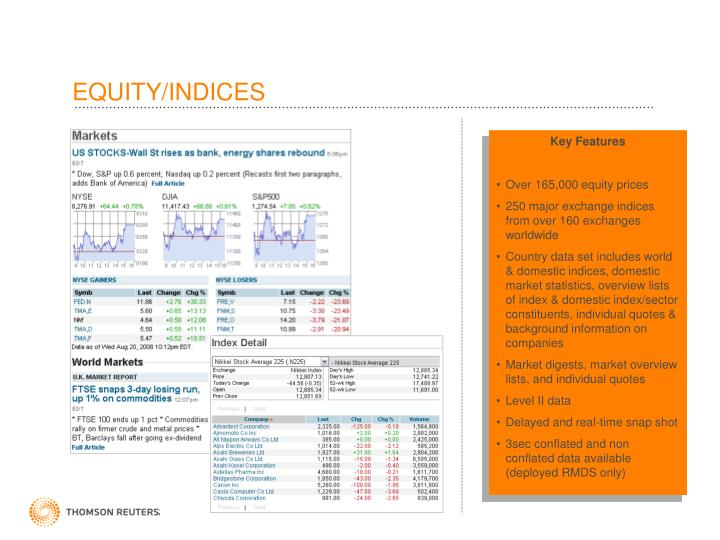 EQUITY/INDICES