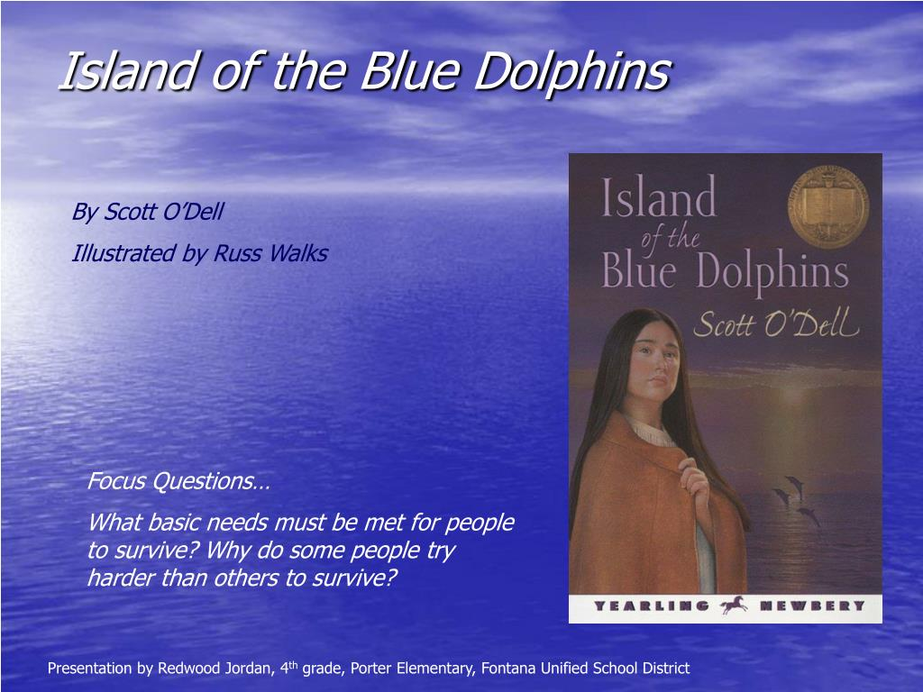 island of the blue dolphins l.