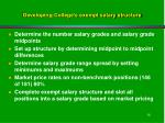 developing college s exempt salary structure16