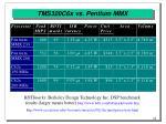 tms320c6x vs pentium mmx