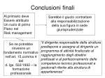 conclusioni finali