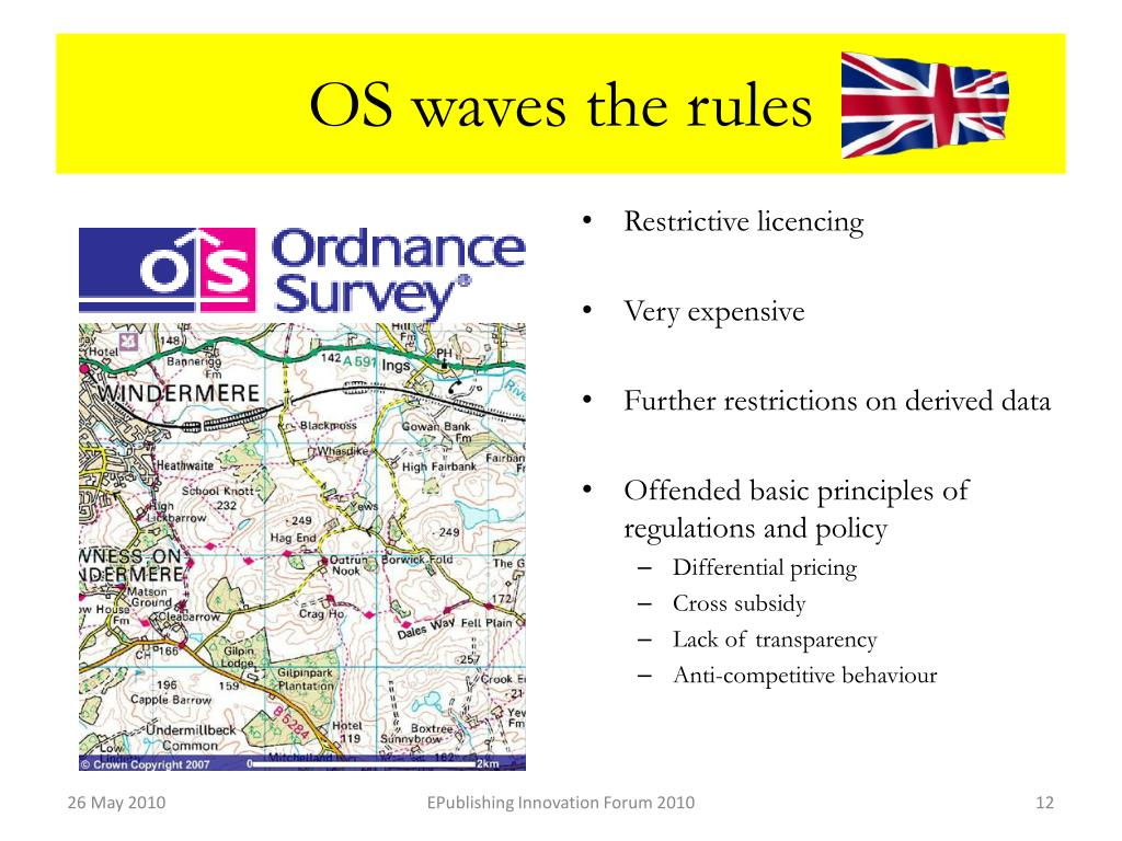 OS waves the rules