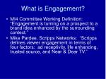 what is engagement38