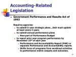 accounting related legislation13