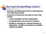 accrual accounting cont