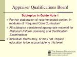 appraiser qualifications board30