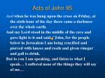 acts of john 95