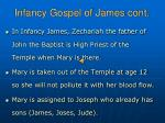 infancy gospel of james cont