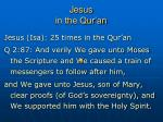 jesus in the qur an