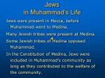 jews in muhammad s life
