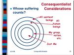 consequentialist considerations