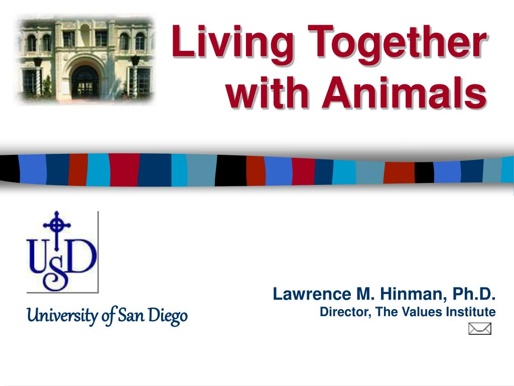 living together with animals l.