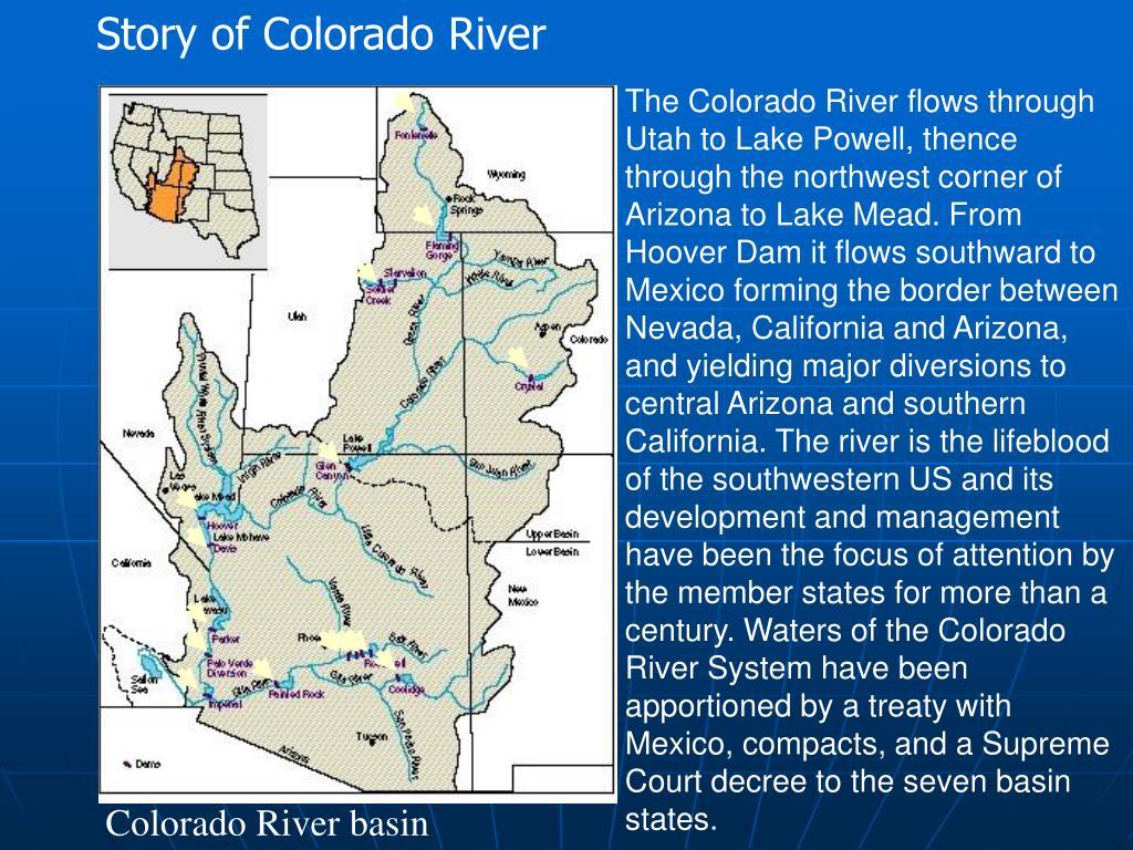 Story of Colorado River