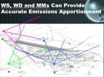 ws wd and mms can provide accurate emissions apportionment