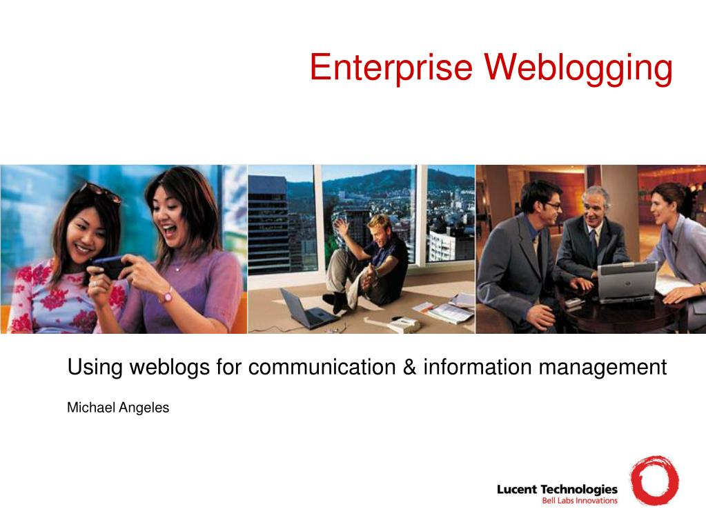 enterprise weblogging l.