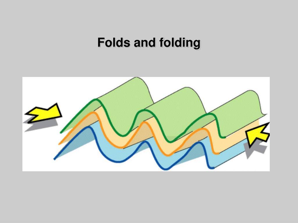 folds and folding l.