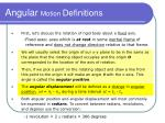 angular motion definitions5