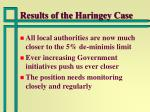 results of the haringey case15