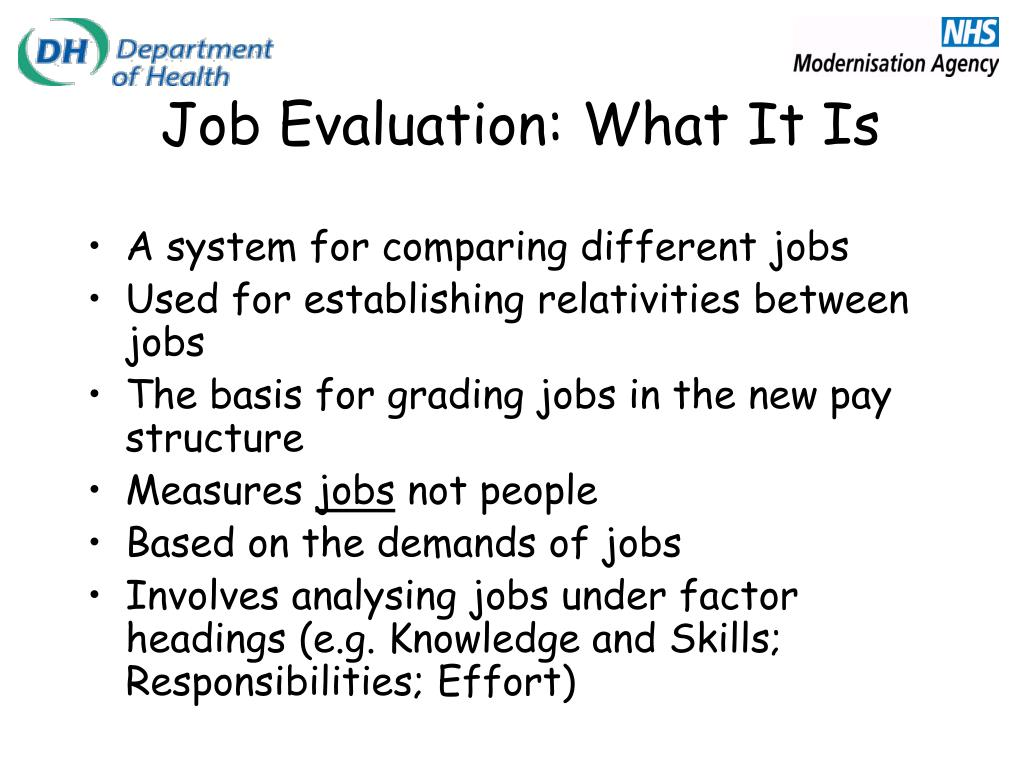 Job Evaluation: What It Is