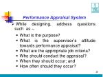 performance appraisal system28