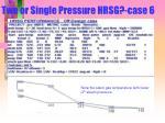 two or single pressure hrsg case 6