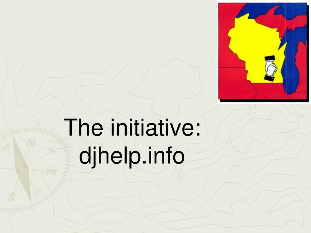 The initiative: