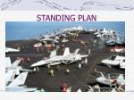 standing plan