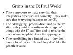 grants in the depaul world2