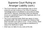 supreme court ruling on arranger liability cont