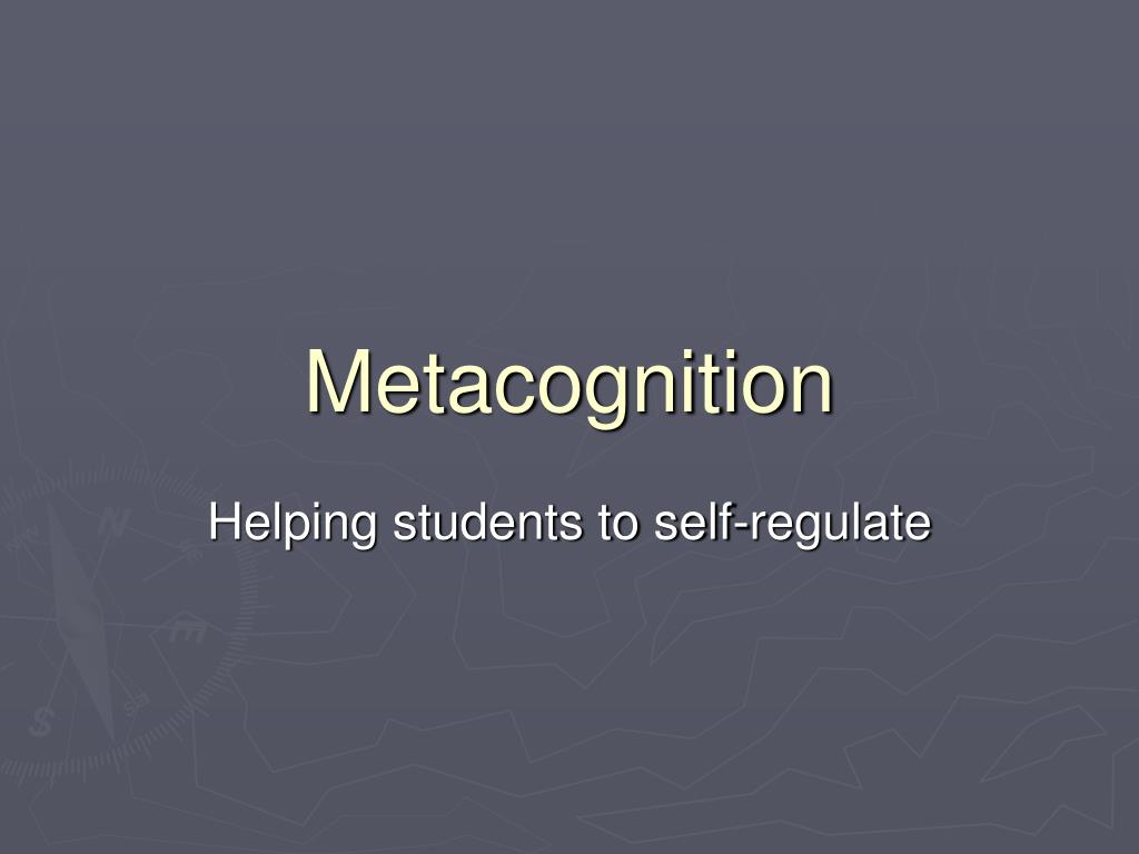 metacognition l.