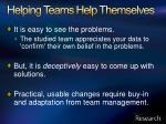 helping teams help themselves