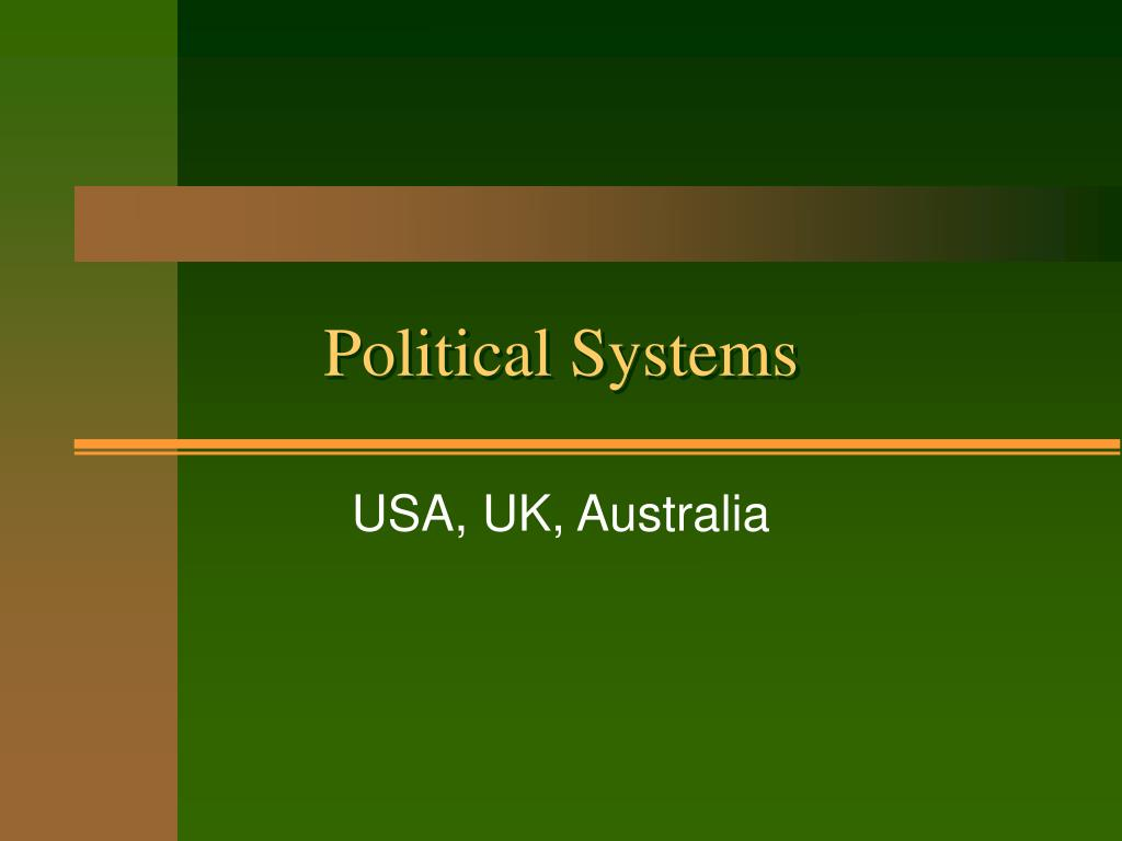 political systems l.
