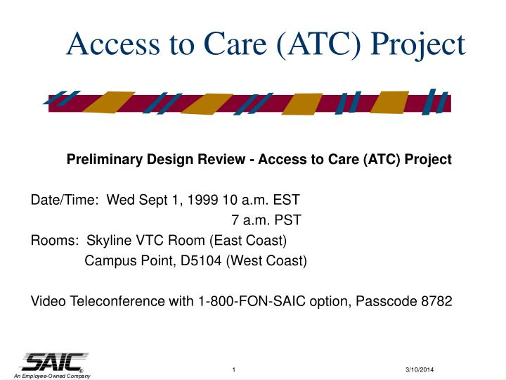 access to care atc project n.