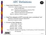 atc definitions