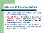 action on dpc recommendations1