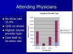 attending physicians