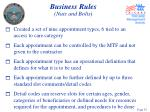 business rules nuts and bolts