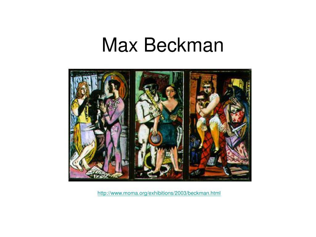 Max Beckman