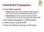 lifted belief propagation29