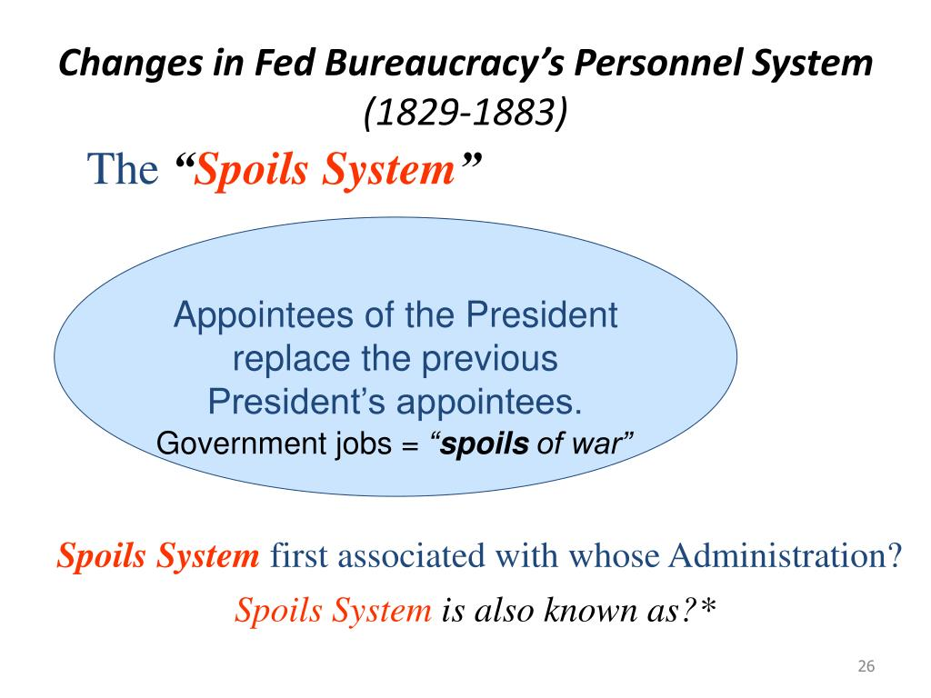 Changes in Fed Bureaucracy's Personnel System